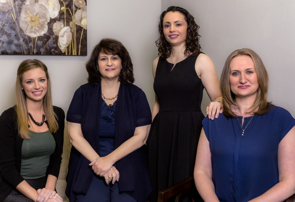 Angela Manz Law Firm Group Portrait