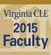 Virginia CLE 2015 Faculty