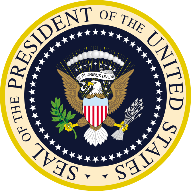 English: Seal of the President of the United S...