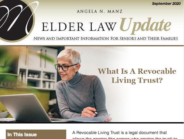 Elder Law Update from Angela Manz
