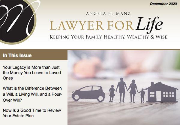 Estate Planning newsletter December 2020